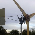 Homemade Wind Turbine