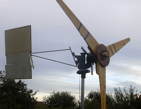 HomeMade Wind Turbine Generator