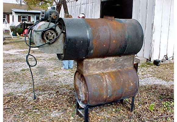 Homemade Wood Boiler