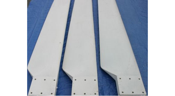 WIND TURBINE GENERATOR PVC BLADES WITH HUB | eBay
