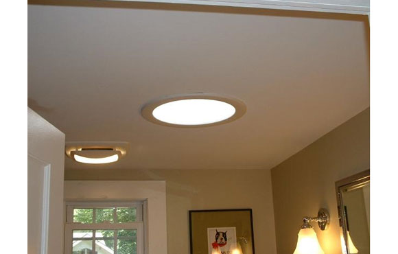 Solar Light Tube and Room Ceiling