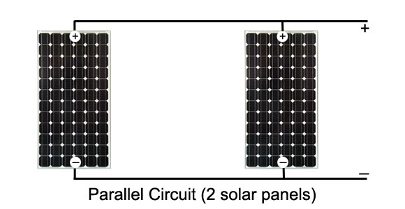 Parallel Circuit with 2 solar panels